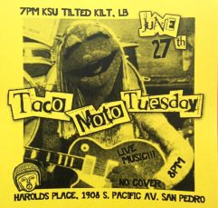 taco moto tuesday live music free show
